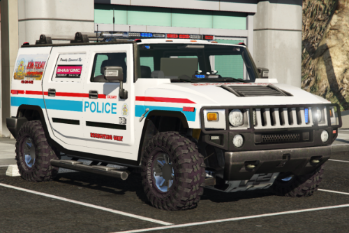 Hummer H2 Calgary Police Service CPS