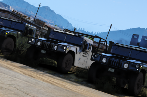 Humvee (SEDENA / SEMAR) [Add-On / FiveM]