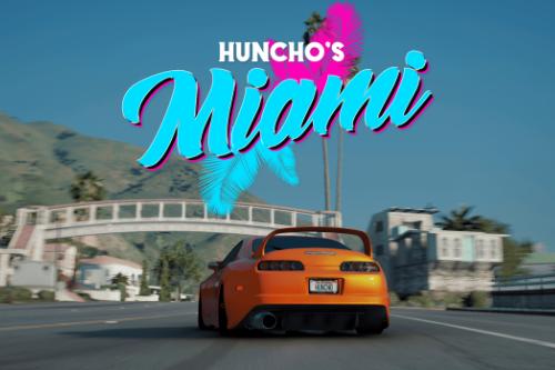 Huncho's Miami (NVE/VANILLA) (RESHADE PRESET)
