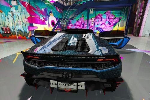 Huracan Spyder Veneno Roadster Livery