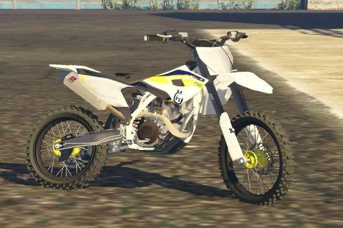 Husqvarna FC250 paintet Paint jobs Supermoto Enduro