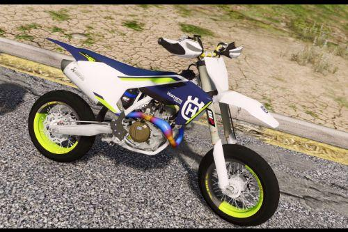Husqvarna FS450 Paint Jobs Akaprovic Exhaust