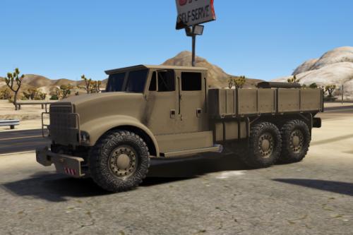 HVY Barracks 0L-4D Civ [Add-on | Replace]