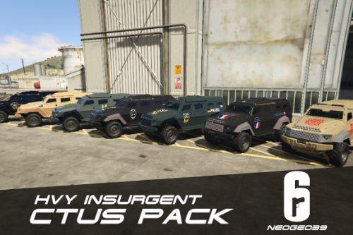 HVY Insurgent CTUs Pack (Rainbow Six Siege) [ADDON]
