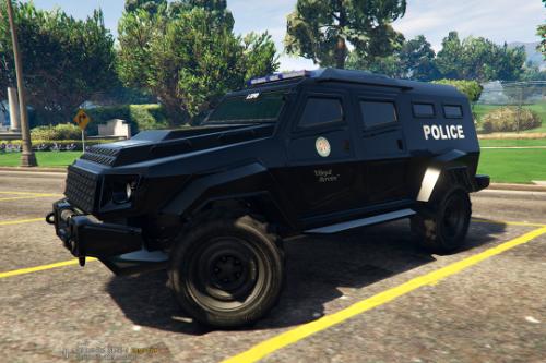 HVY Insurgent - LSPD Police Paintjob
