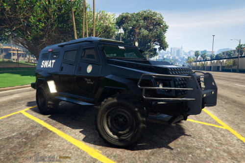 HVY Insurgent - LSPD SWAT Paintjob