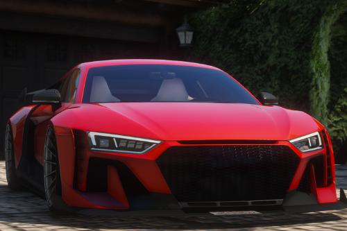 Hycade Audi R8 [Add-On / FiveM]