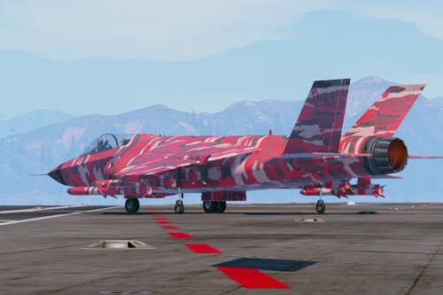 Hydra - Red Camoflage