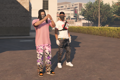 HYPEBEAST Pants Pack for MP Male