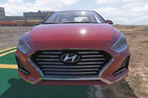 Hyundai Sonata 2018 [Add-on]