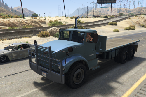 HYV Sturdy Flatbed [Add-On / Replace]
