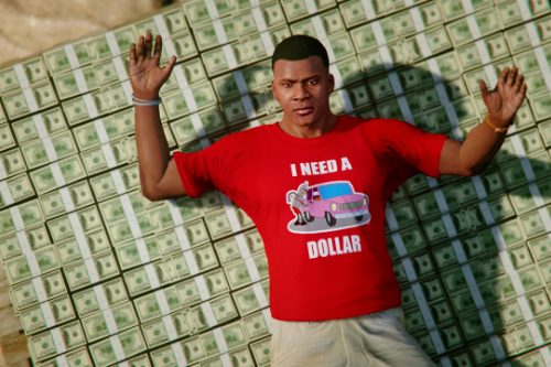 """I need a dollar"" - Franklin's T-Shirt"