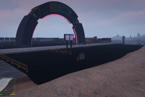Ice Racing event in paleto bay [Ymap][MapEditor]