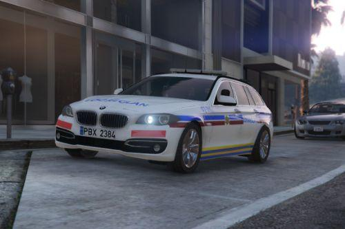 Iceland Police BMW 5-series