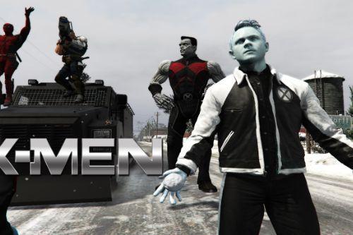 Iceman X-Men  [Add-On Ped]