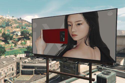 New iFruit 9iX Billboards (Jennie BLACKPINK)