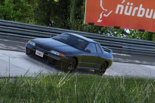 Pretty Accurate Nissan Skyline R32 GT-R handling