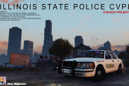 Illinois State Police Ford CVPI Crown