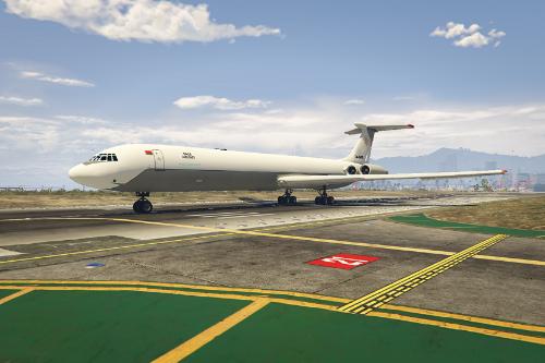 Ilyushin Il-62 Rada Cargo Airlines Livery