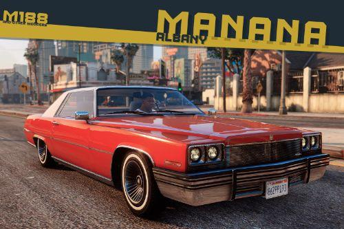 Improved Albany Manana (GTA IV style) [Replace | Sounds]