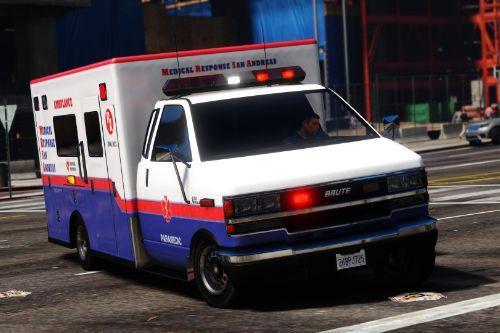 Improved Brute & Sadler Ambulances [Add-On|Replace|Template]