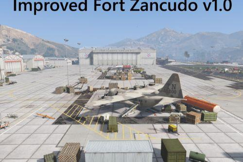 Improved Fort Zancudo [MapEditor]