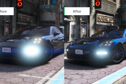 "Improved LED lights in ""Make Visual Great Again"" mod"