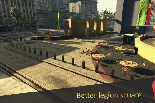 Better legion scuare [YMAP] [XML]