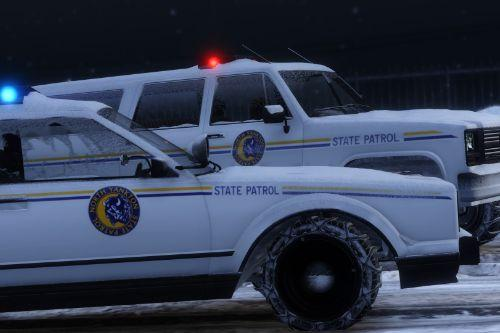 Improved North Yankton State Police Vehicles [Replace]