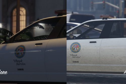 Improved Police Car Livery