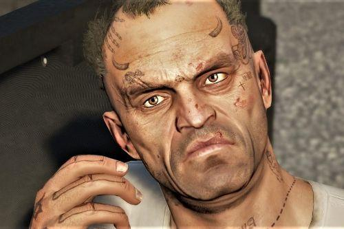 Improved Trevor w/ face- and hand tattoos