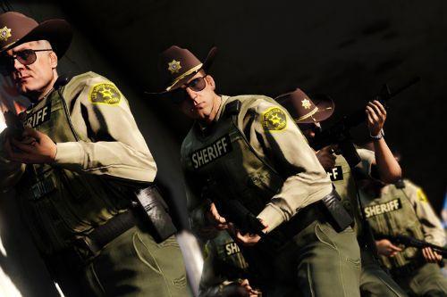 Improved Vanilla Los Santos County Sheriff Deputies [LSSD]