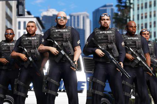 Improved Vanilla LSPD Male Cops [Los Santos Police Department]