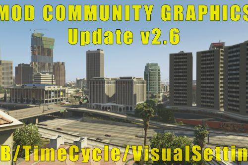 Mod Community Graphics ENB | TimeCycle | VisualSettings