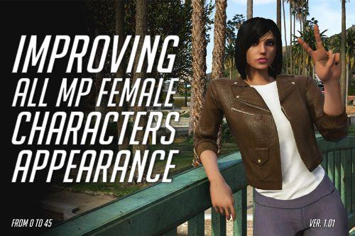 Improving All MP Female Characters Appearance