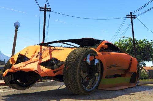 GTA IV Vehicle Damage Handling Deformation