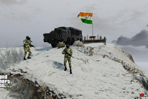 INDIAN ARMY BASE CAMP