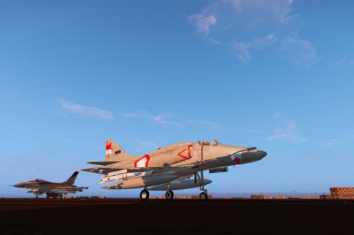 Indonesia A4-Q Skyhawk tni au