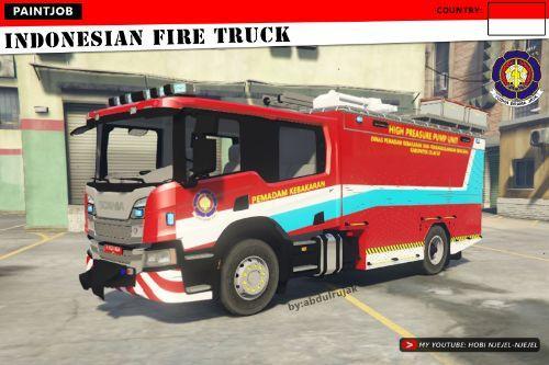 Indonesian Fire Truck (Truk Pemadam Kebakaran Indonesia)