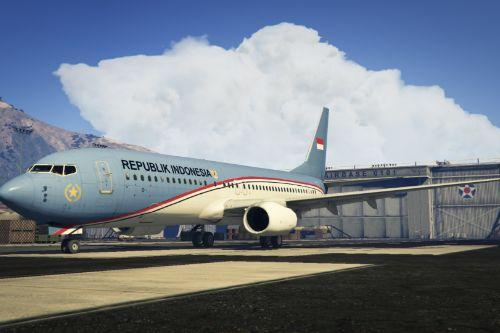 """Indonesian government """"A-001"""" Boeing 737-800"""