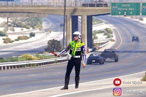 Indonesian Highway Cops
