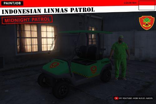 Indonesian LINMAS Patrol Car & LINMAS Skin (HANSIP) | HANSIP/LINMAS Indonesia