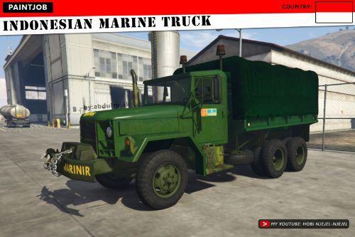 Indonesian Marine Truck (Truk Marinir Indonesia)
