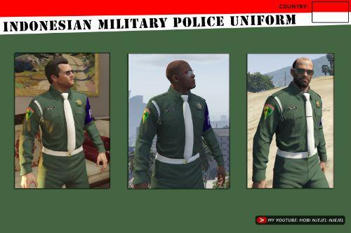 Indonesian Military Police (Polisi Militer Indonesia)