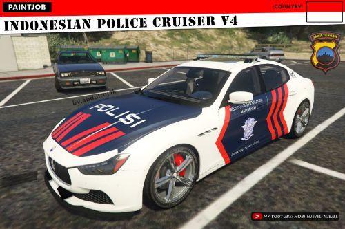 Maserati Ghibli | Indonesian Police Cruiser V4 | Polisi Indonesia