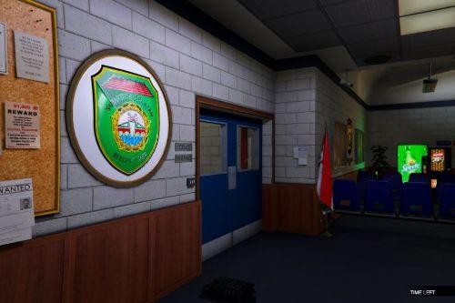 Indonesian Police Station Interior