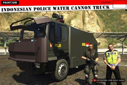 Indonesian Police Water Cannon Truck (Truk Water Cannon Polisi Indonesia)