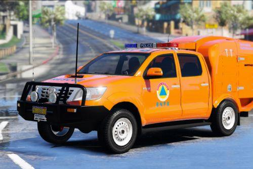 Indonesian Rescue BNPB Livery for Toyota Hilux