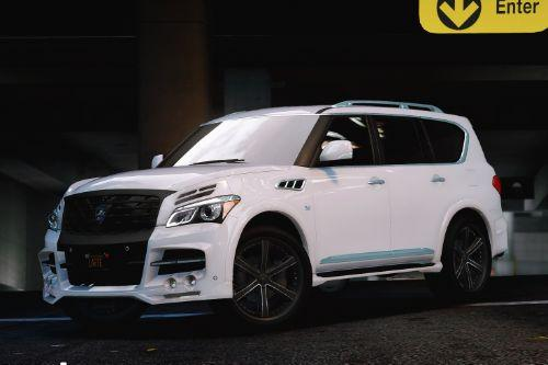 Infiniti QX80 + larte kits [Add-On | Tuning | Wheels]