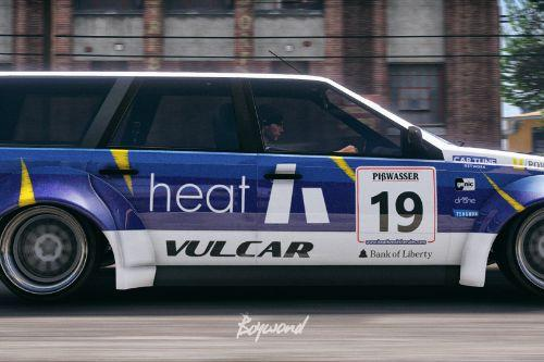 "Ingot Race Car ""Team Heat"""